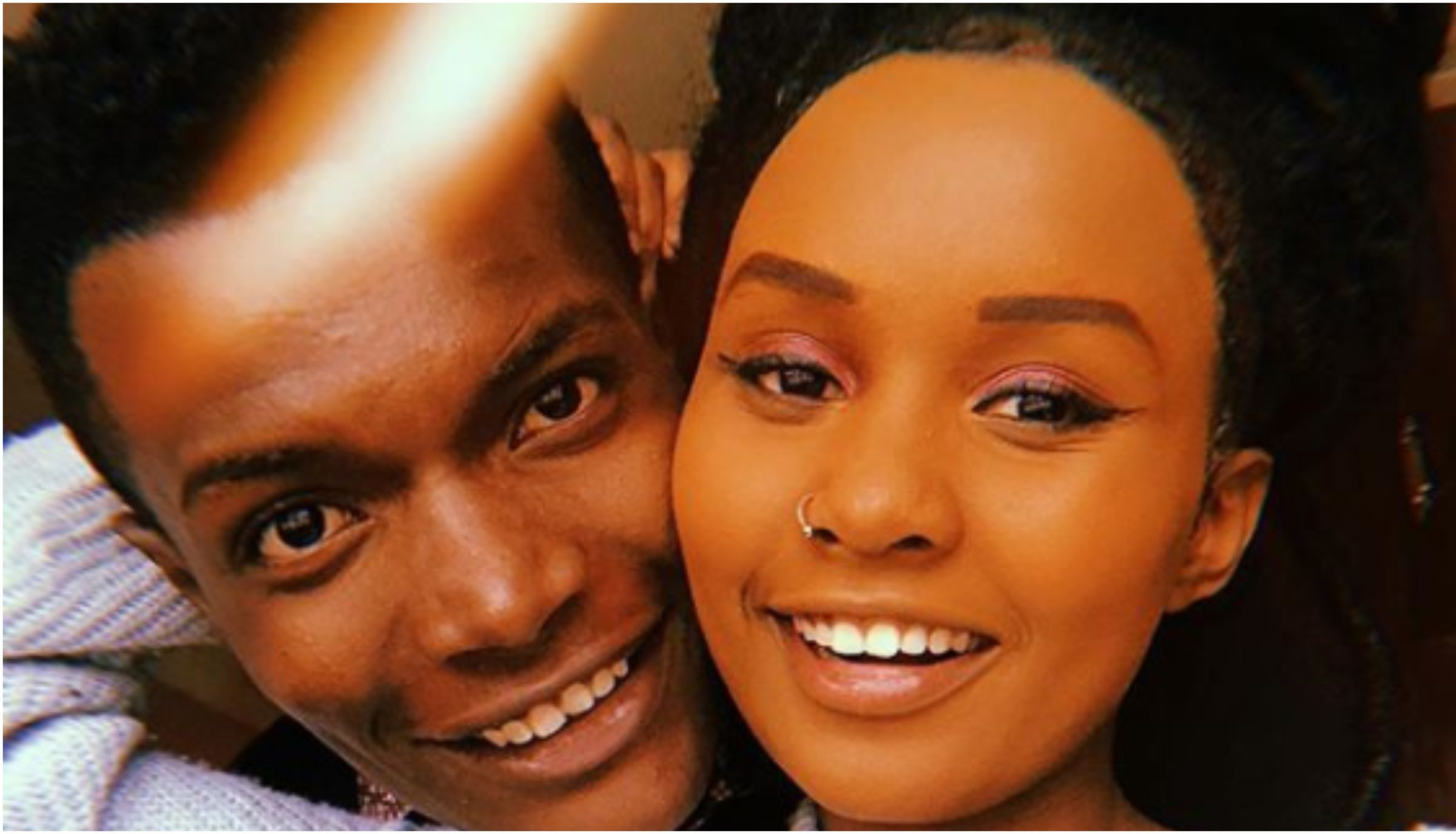 Tyler Mbaya and girlfriend break the internet in loved up photos during romantic shoot