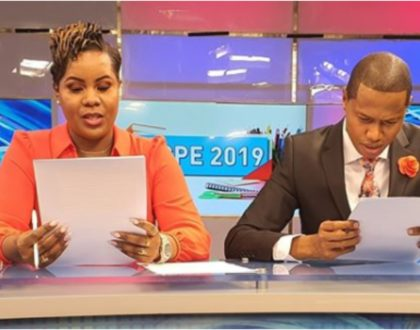 4 Kenyan journalists caught on camera wearing shorts or sweat pants during live broadcast