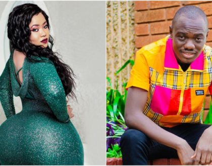 Eddie Butita caught on camera fooling around with Vera Sidika's big behind (Video)