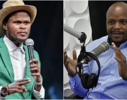 Jalang'o responds to claims he denied Othuol Othuol KSh15k for treatment