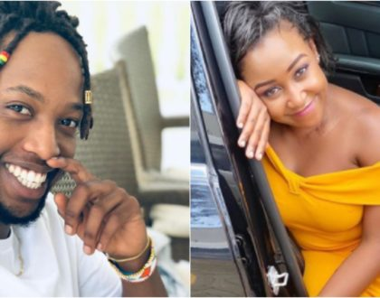 """""""I wouldn't mind dating Kahush,"""" Betty Kyallo sweetly admits after random encounter with CS Kagwe's son"""
