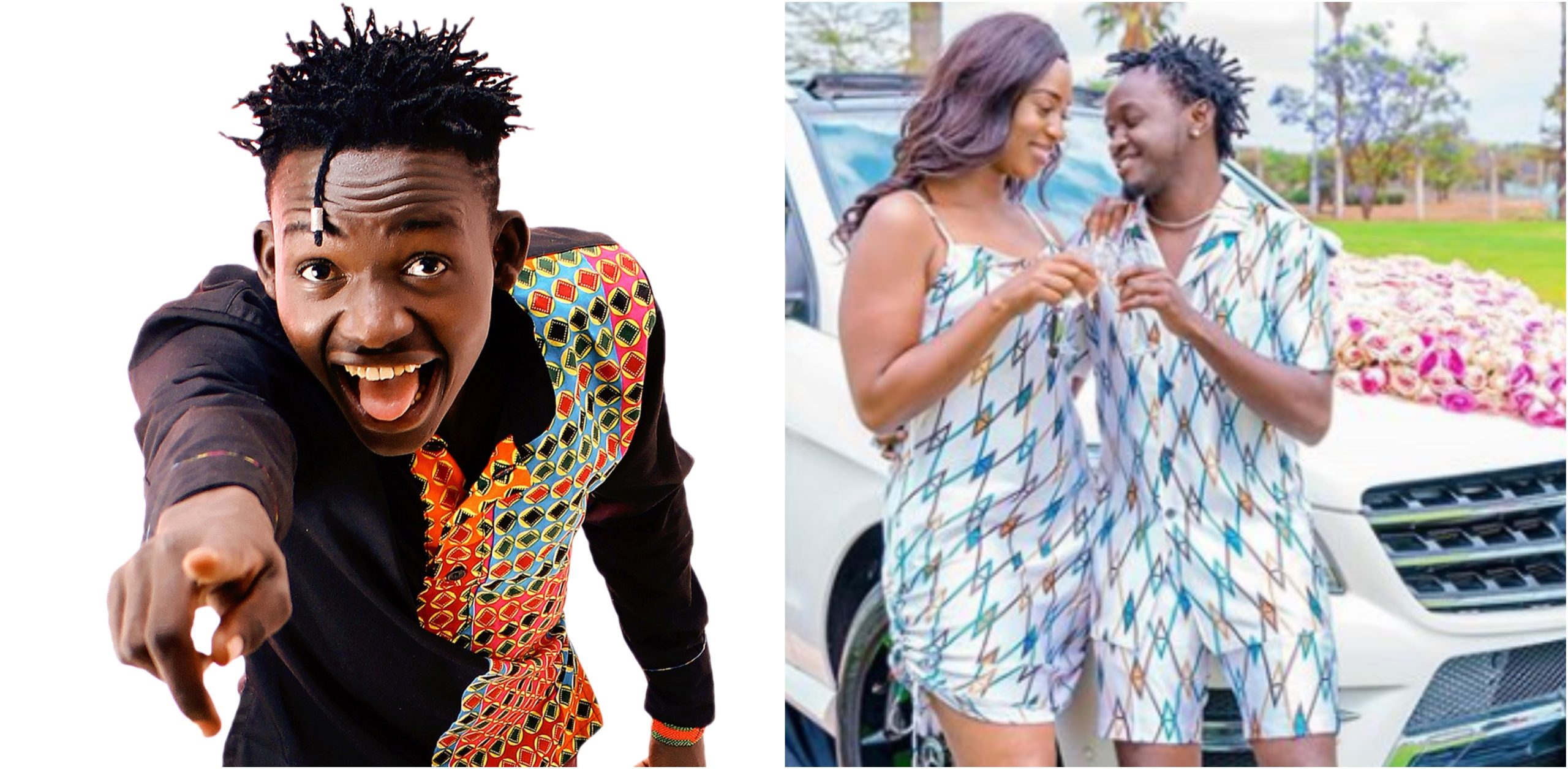 MCA Tricky thrills fans after imitating Bahati's grand proposal to Diana Marua (Video)
