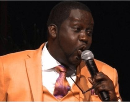An angered Churchill lectures comedians during Othuol Othuol's burial (Video)