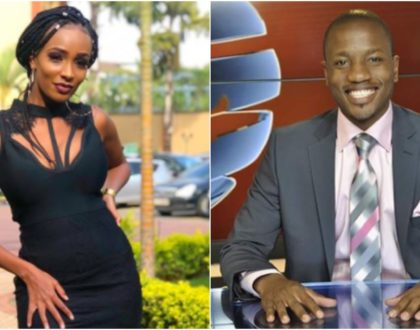 """In your arms I feel warm, safe and secure,"" recently engaged Joyce Maina sweetly gushes over her popular TV anchor lover"