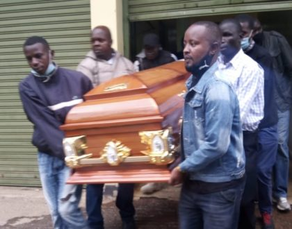 Rest In Paradise: Othuol Othuol's body moved from Nairobi to Siaya ahead of comedian's burial (Photos)