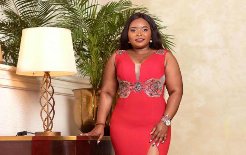Sassy news anchor Gladys Mungai parades acres of skin during her luxurious birthday party (Photos)