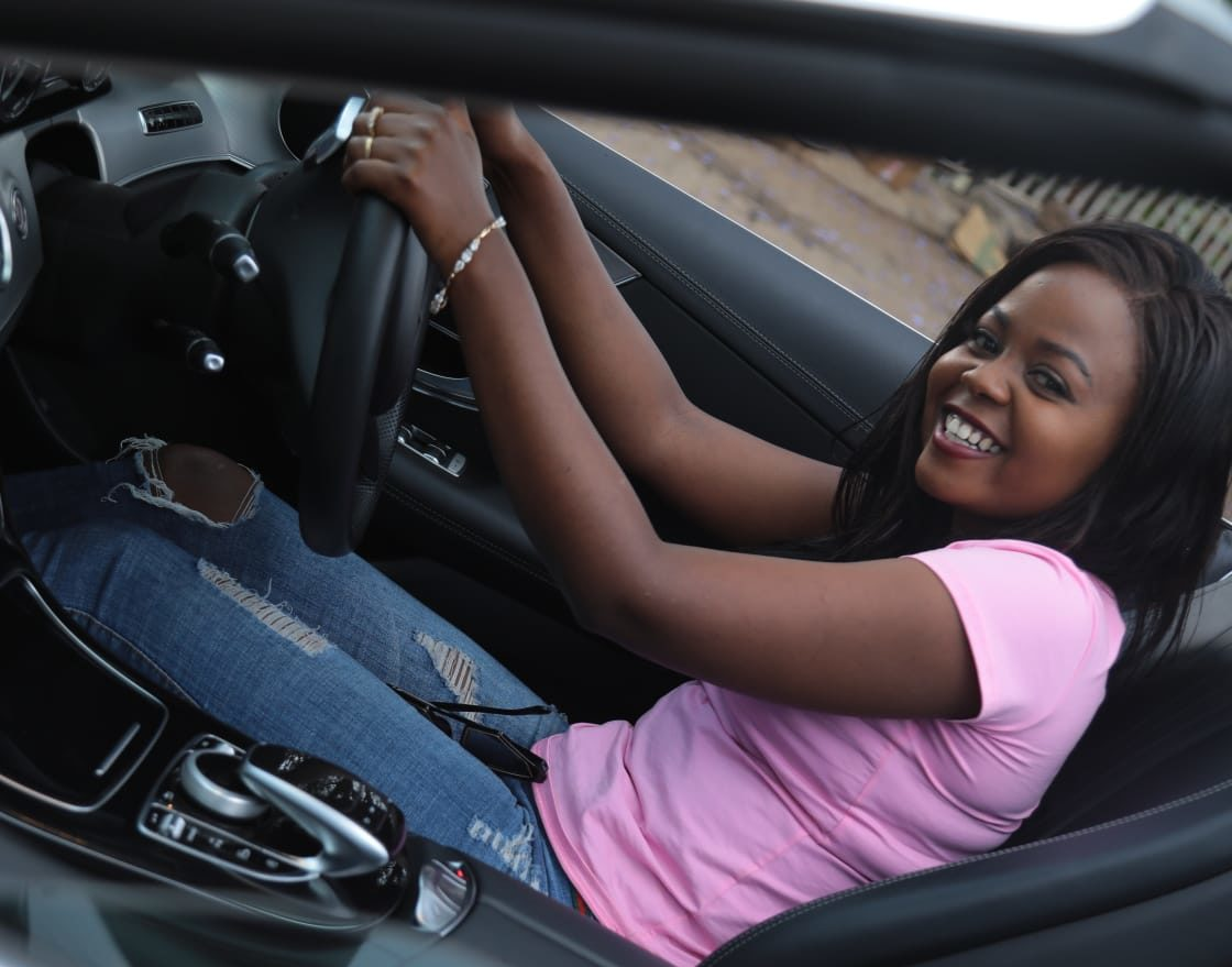 Meet the classy Mulayi Muni, the first ever Kenyan female car host with the coolest Car show in town