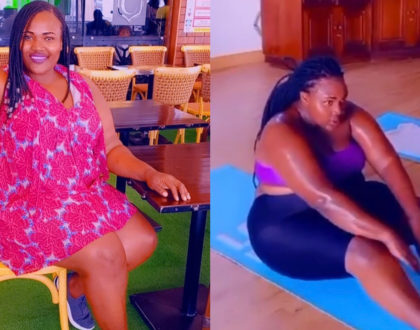 Sandra Dacha 'Silprosa' embarks on weight loss journey to shed off unnecessary body fat (Video)