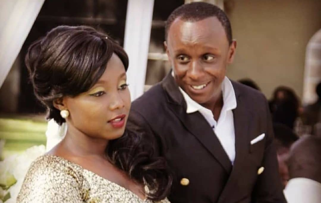 """Hukuniambia humeangi nywele"" Actress Catherine Kamau blames husband for daughter's baldness (Photos)"