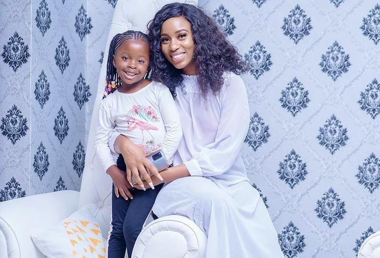 Diana Marua snubs stepdaughter, Mueni Bahati on her 5th birthday