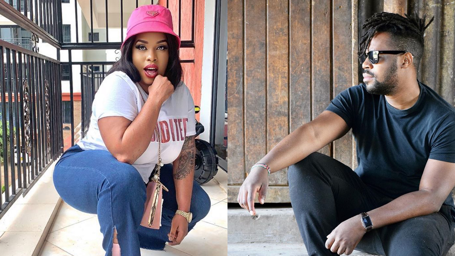 Ouch! Edgar Obare's savage clap-back after Bridget Achieng calls him out for refusing to promote her bleaching creams