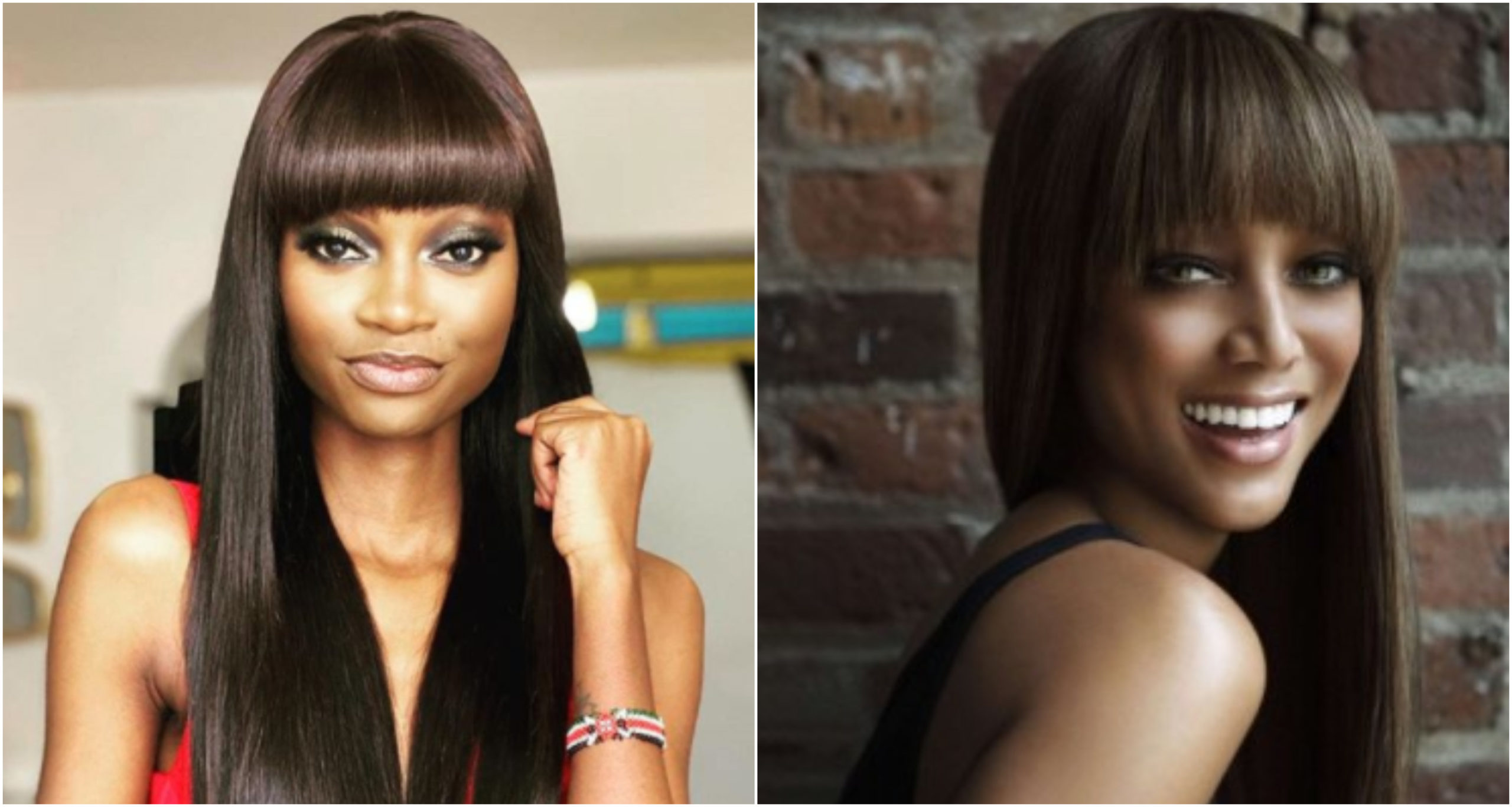 Kenyan radio host draws Tyra Bank's attention after showcasing their close resemblance