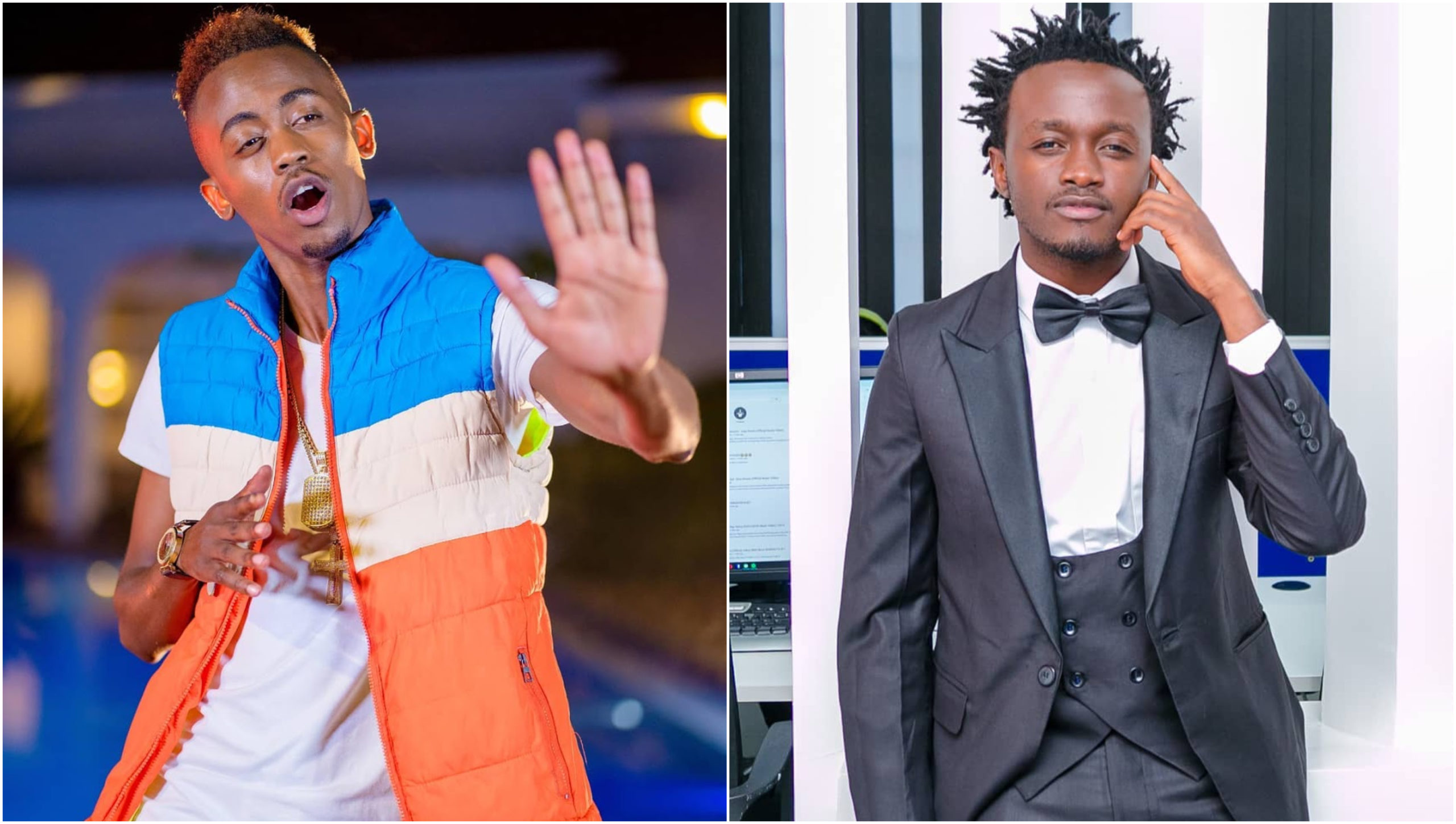 Brotherly love? Bahati and Weezdom's relationship questioned after their intimate chats surface