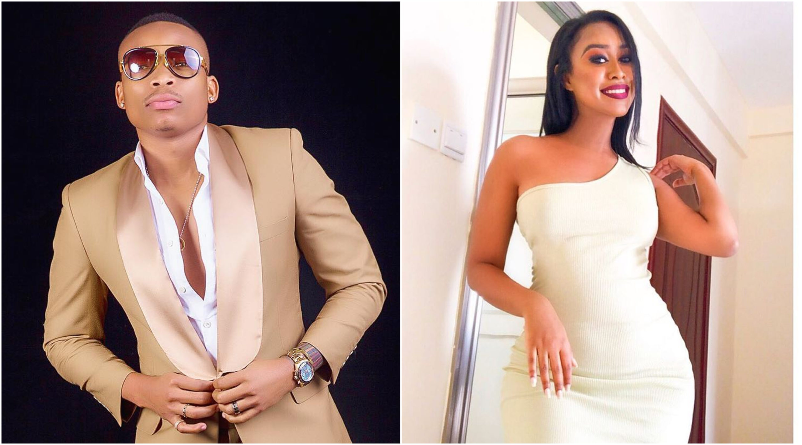 Nothing but love! Otile Brown flies to Ethiopia to meet lover Nabayet, a week after her return (Videos)