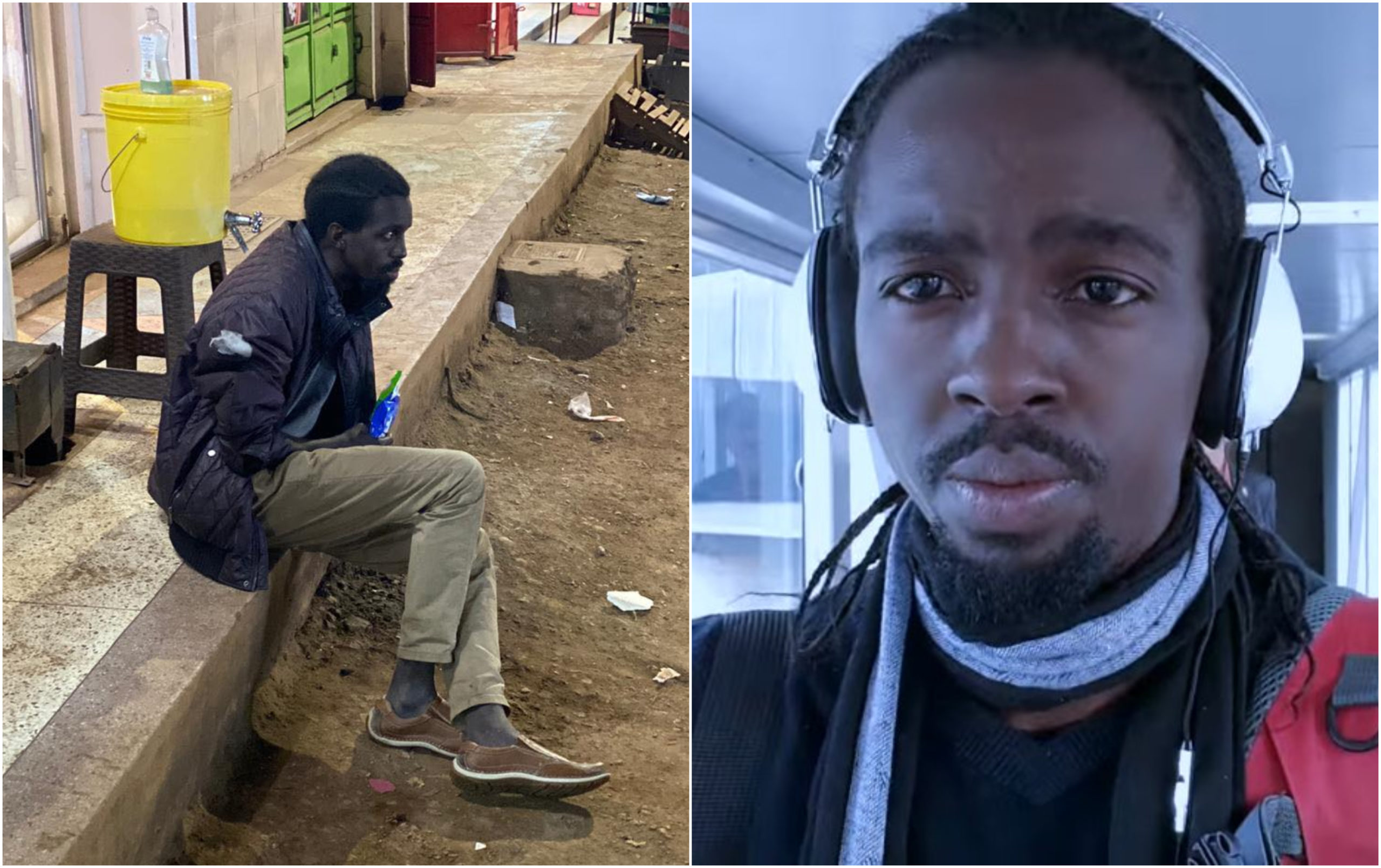 Former Tusker Project Fame star living on the streets finally rescued after his plight went viral (Photos)