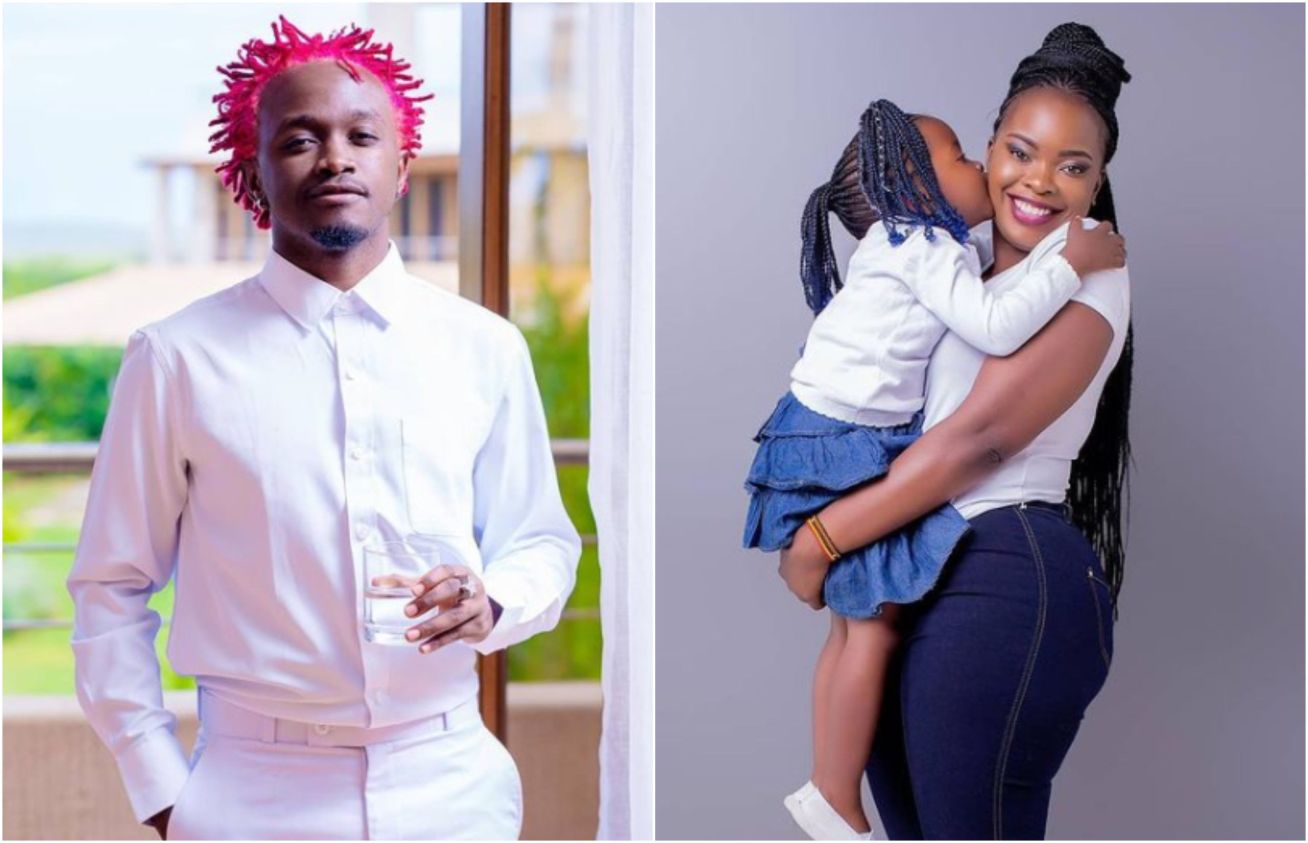 """I appreciate and respect you,"" Bahati pens heartwarming letter to baby mama Yvette"
