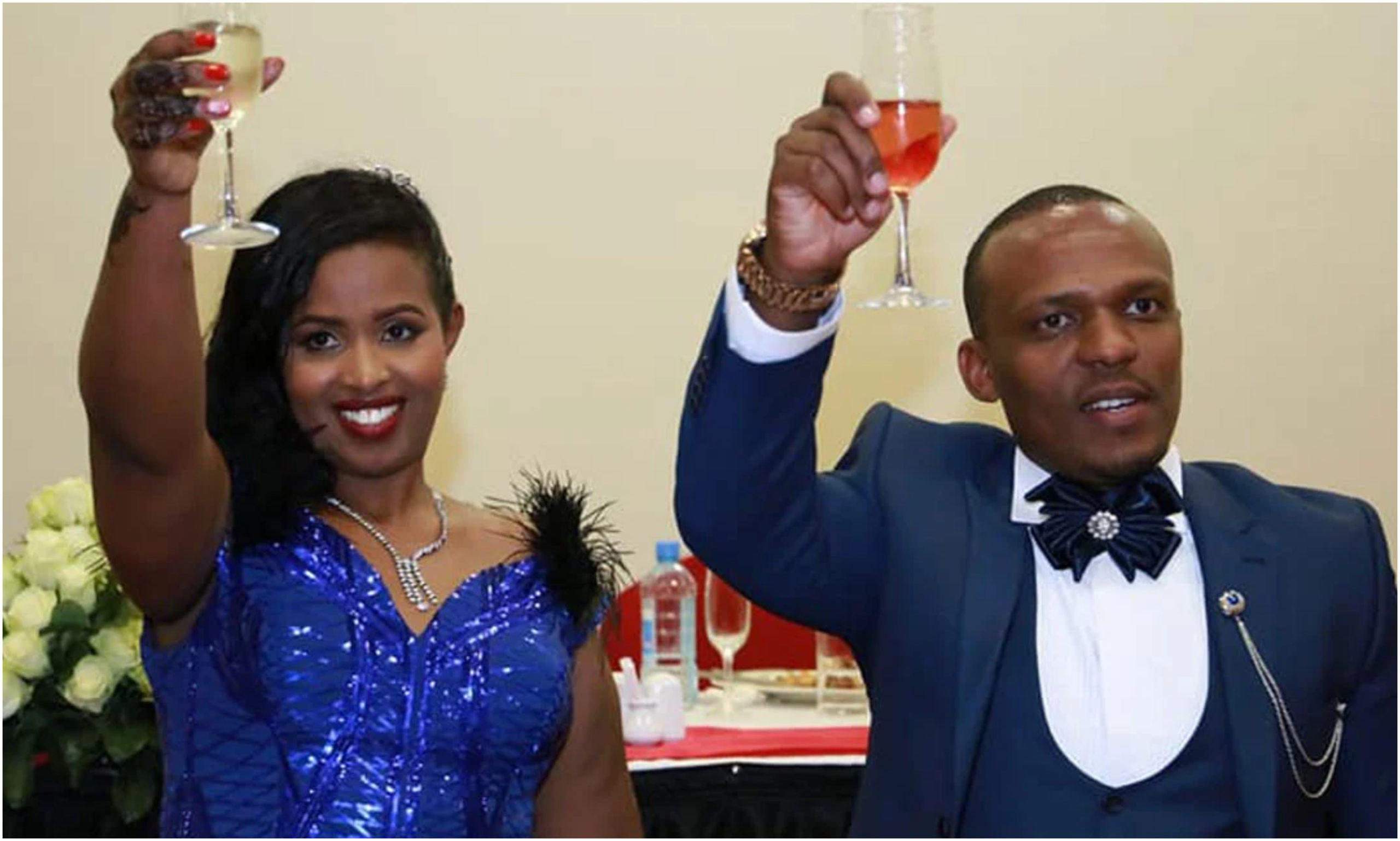 """Rona is real!"" Ben Kitili and wife celebrate 2 years' wedding anniversary in quarantine after COVID-19 infection"
