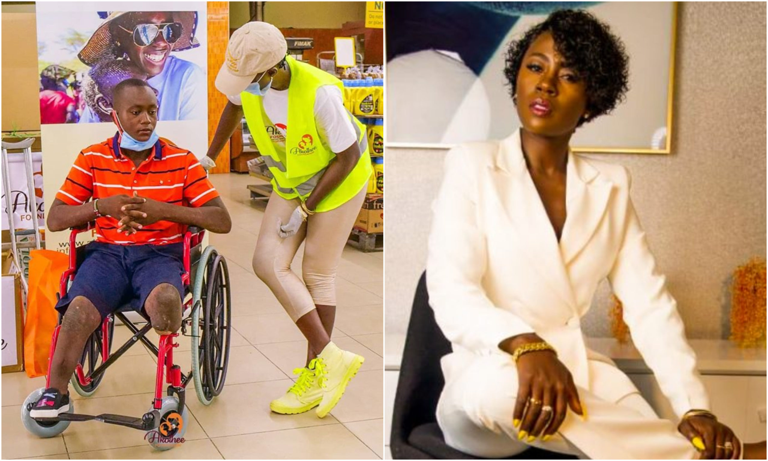 """I only gave birth to 5 children,"" Akothee publicly declares after disabled man she rescued turned ungrateful"