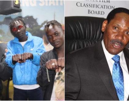 """Are your parents proud of you?"" Ezekiel Mutua calls out Gengetone group 'Mbogi Genje'"