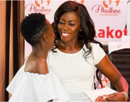 """""""The only achievement I have is educating my children and giving them the best,"""" Akotheeproudly pens as daughter graduates"""