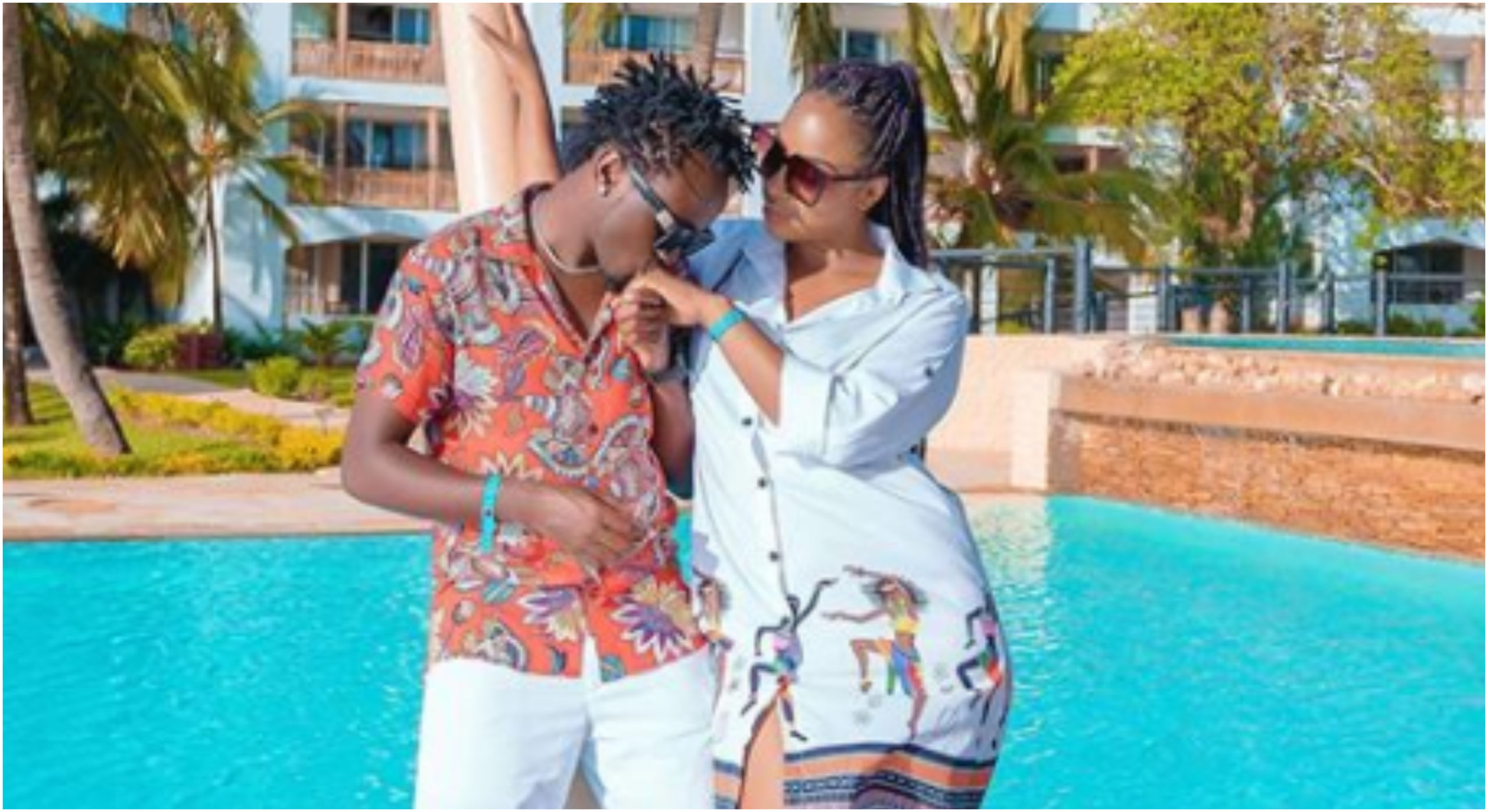 """Proud to be under your authority and ready to submit to you,"" Diana Marua sweetly gushes over husband in open love letter"