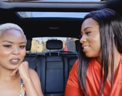 Diana Marua's younger sister reveals how terrified she was to be a teen mum of twins at only 19 years (Video)