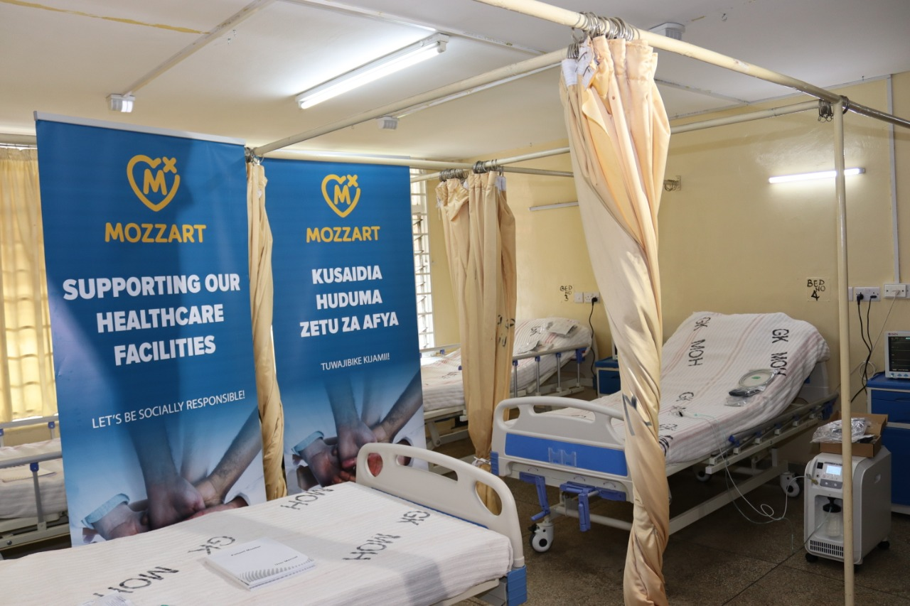 Ngara Health Center to offer improved maternal care as Mozzart Bet donates Intensive Care Unit equipment