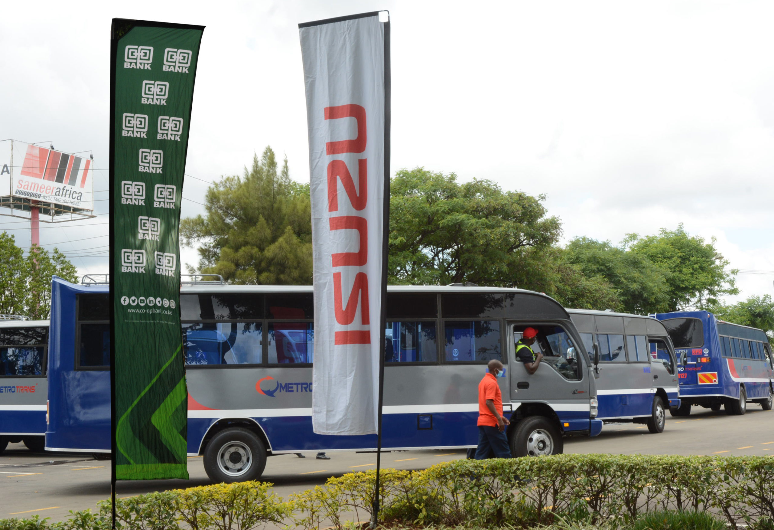 MetroTrans Sacco acquires 45 brand new buses in a financing deal with Co-op Bank