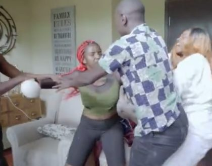 It just got real! Shakilla and Shazzy engage in real physical fight during at Eric Omondi's Wife Material reality show (Video)