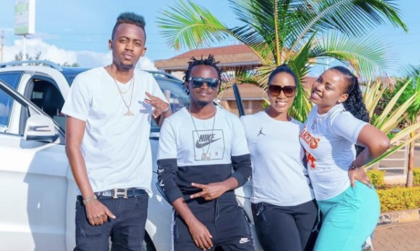"""""""Ebu tunyamazie!"""" Fans savagely tell off Weezdom after weighing in on the Bahati's breakup"""