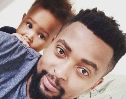 Never seen before photos of Karishizzo's 'Shaniqwa' adorable 'mzungu' son