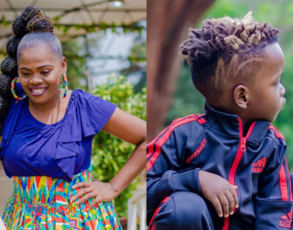 """You need to be arrested"" Betty Bayo bashed for risking underage son's life for a publicity stunt (Video)"