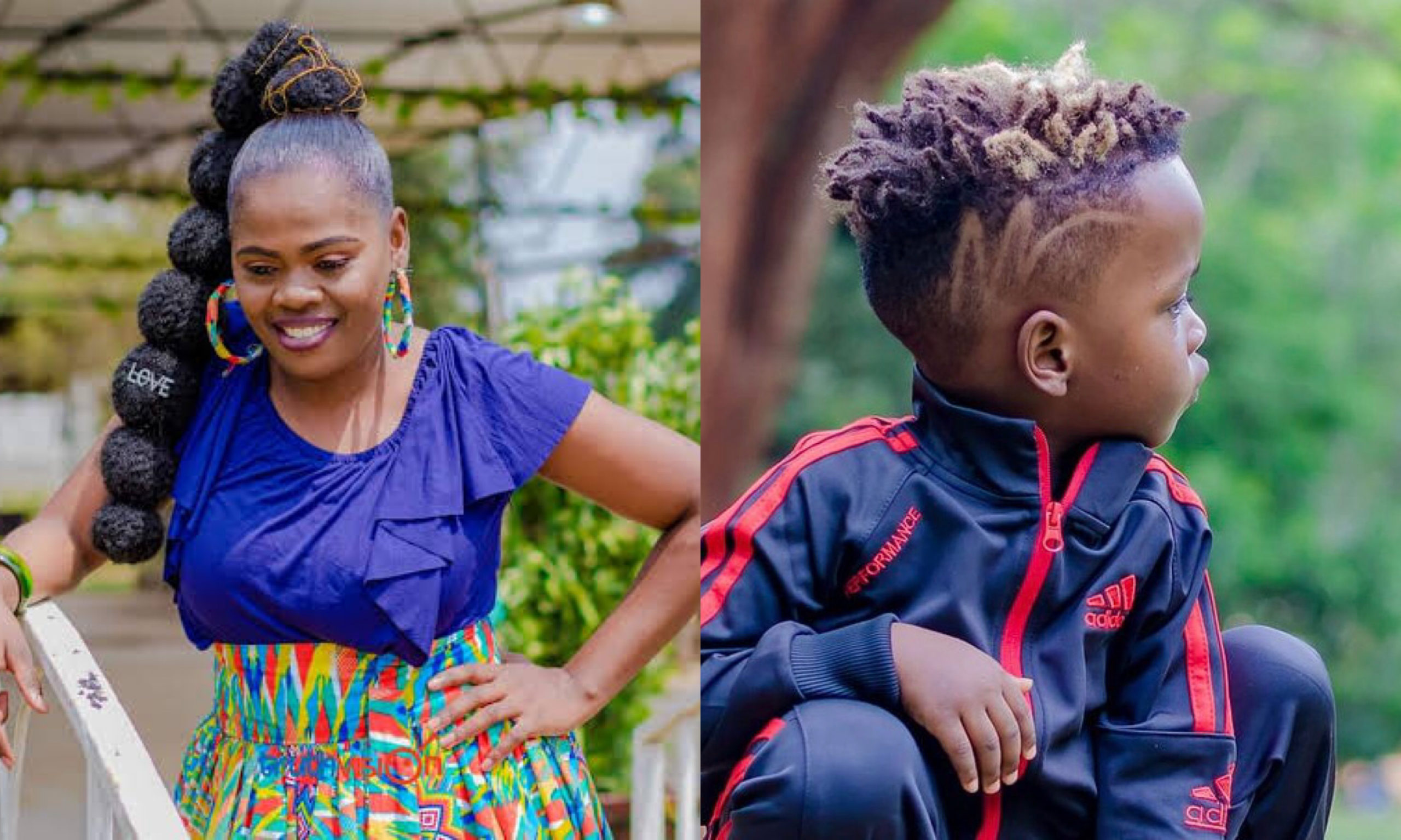 """""""You need to be arrested"""" Betty Bayo bashed for risking underage son's life for a publicity stunt (Video)"""