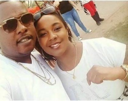 Photos of a happy Marya and ex husband before bitter online breakup