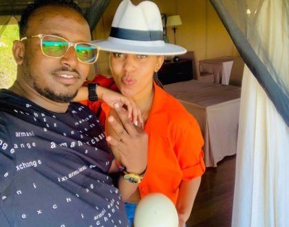 Meet Jamal Roho Safi's first wife who is Amber Ray's co-wife (Photo)