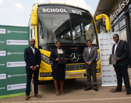 DT Dobie and Co-op Bank jointly launch a 95% financing scheme for Mercedes Benz buses