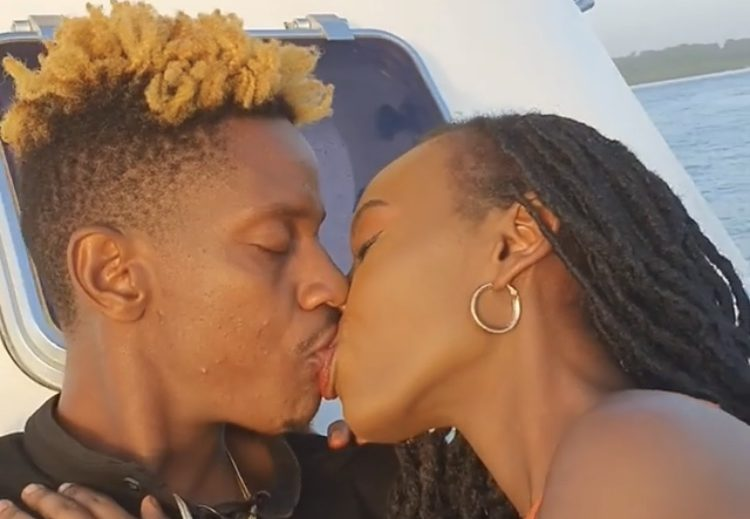 Sorry ladies! Eric Omondi officially introduces the love of his life and future wife (Photo)