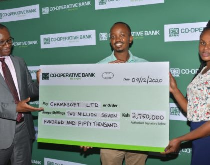 Co-op Bank awards Ksh. 5million to trail-blazing winners of the Akili Kali Innovation Challenge