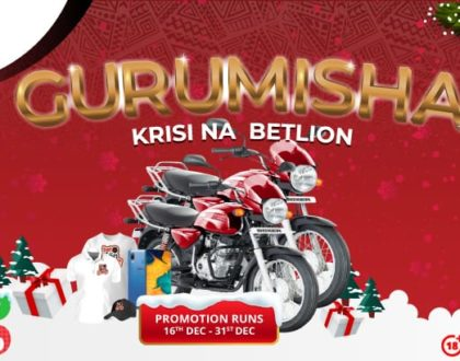 BetLion spices up the festive week with Boxer bikes and other prizes up for grabs in the Boda line Fun Christmas Bonanza!