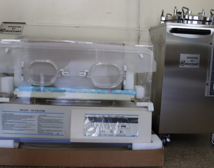 Mozzart blesses Kayole 1 Health Center with Ksh. 1.5m worth of medical equipment