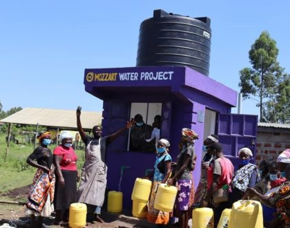 MozzartBet launches The 100-Wells-Water-Project for communities