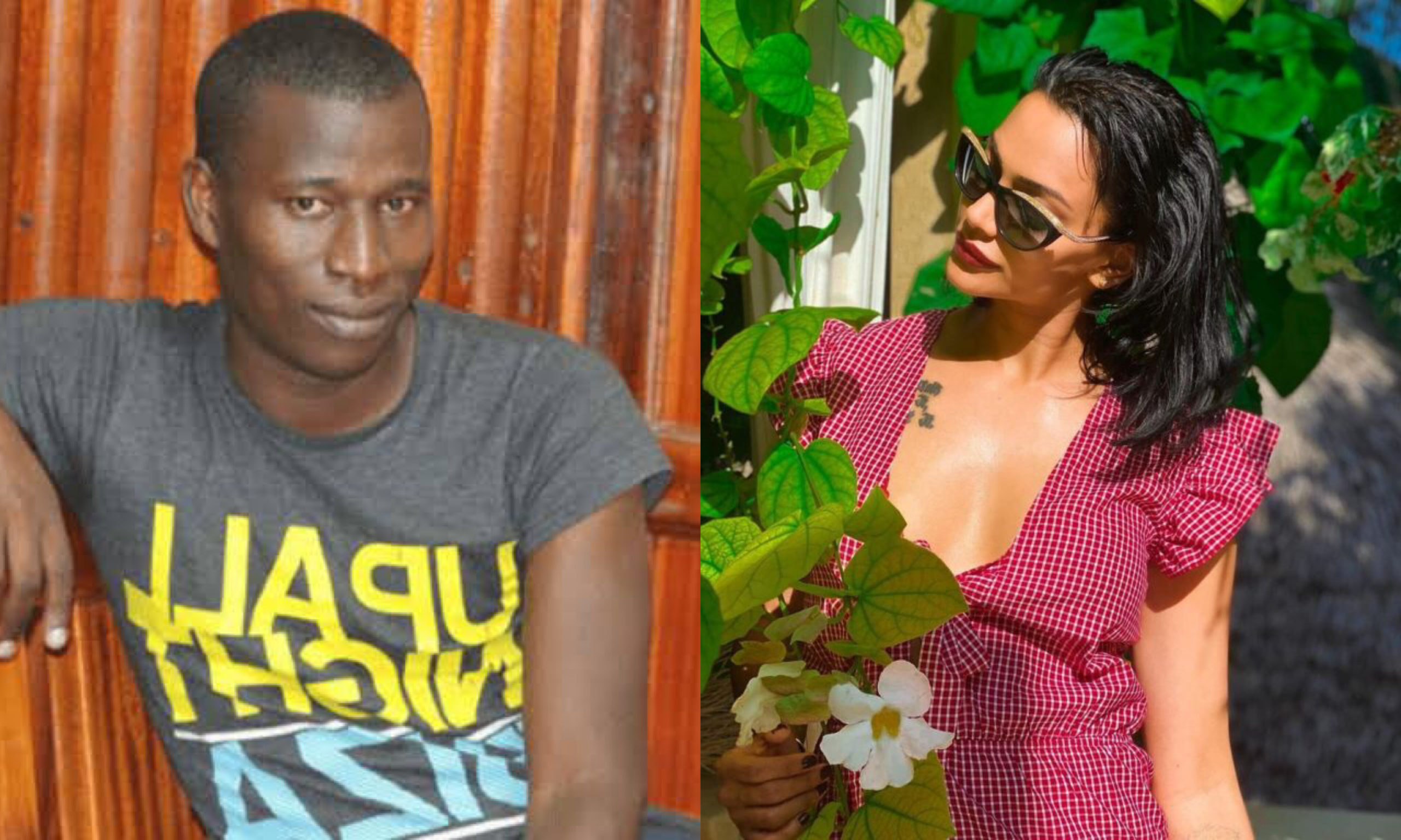 """You should thank me, I made you famous"" Cyprian Nyakundi tells hot lady photographed with Omar Lali"