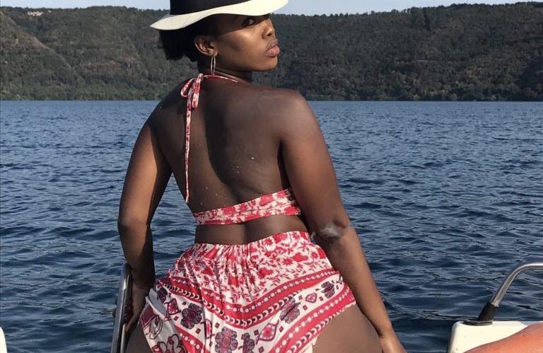 Thirst trap! Corazon Kwamboka leaves no room for imagination with new bikini photo
