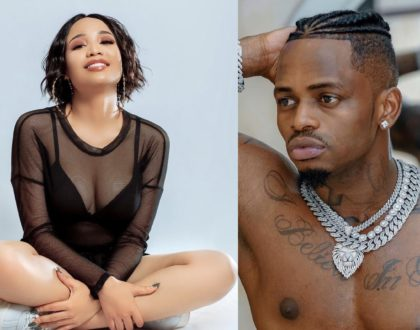 Tanasha anajua? Diamond Platnumz alleged lover steps out wearing singer's white gold chains (Video)