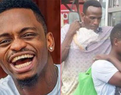 """He is not my father, but I love him"" Diamond Platnumz talks about Mzee Juma Abdul"