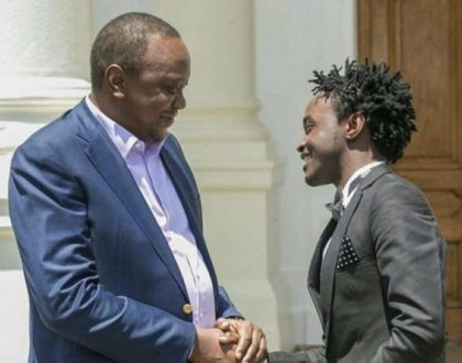 """You are killing our careers"" Bahati cries after president Uhuru extends curfew to March"