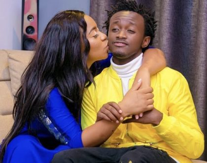 """You shaped the man I have become"" Bahati to wife, Diana Marua"