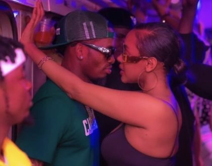 Diamond Platnumz responds after Tanasha Donna showers him with praise in new post