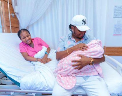 DK Kwenye Beat and wife welcome bouncing baby girl (Photos)