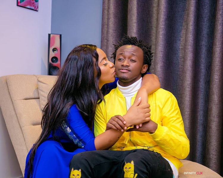 Is Bahati Insecure About Diana Marua Having An Affair With Her Gym Instructor?
